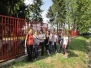 Studentska akcija ličenja ograde