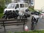 Moto klub Kockari - akcija postavljanja ograde